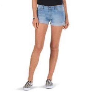 Vans Women's Shorts - Boyfriend Cuff Shorts